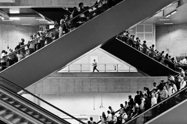 solidão na multidão